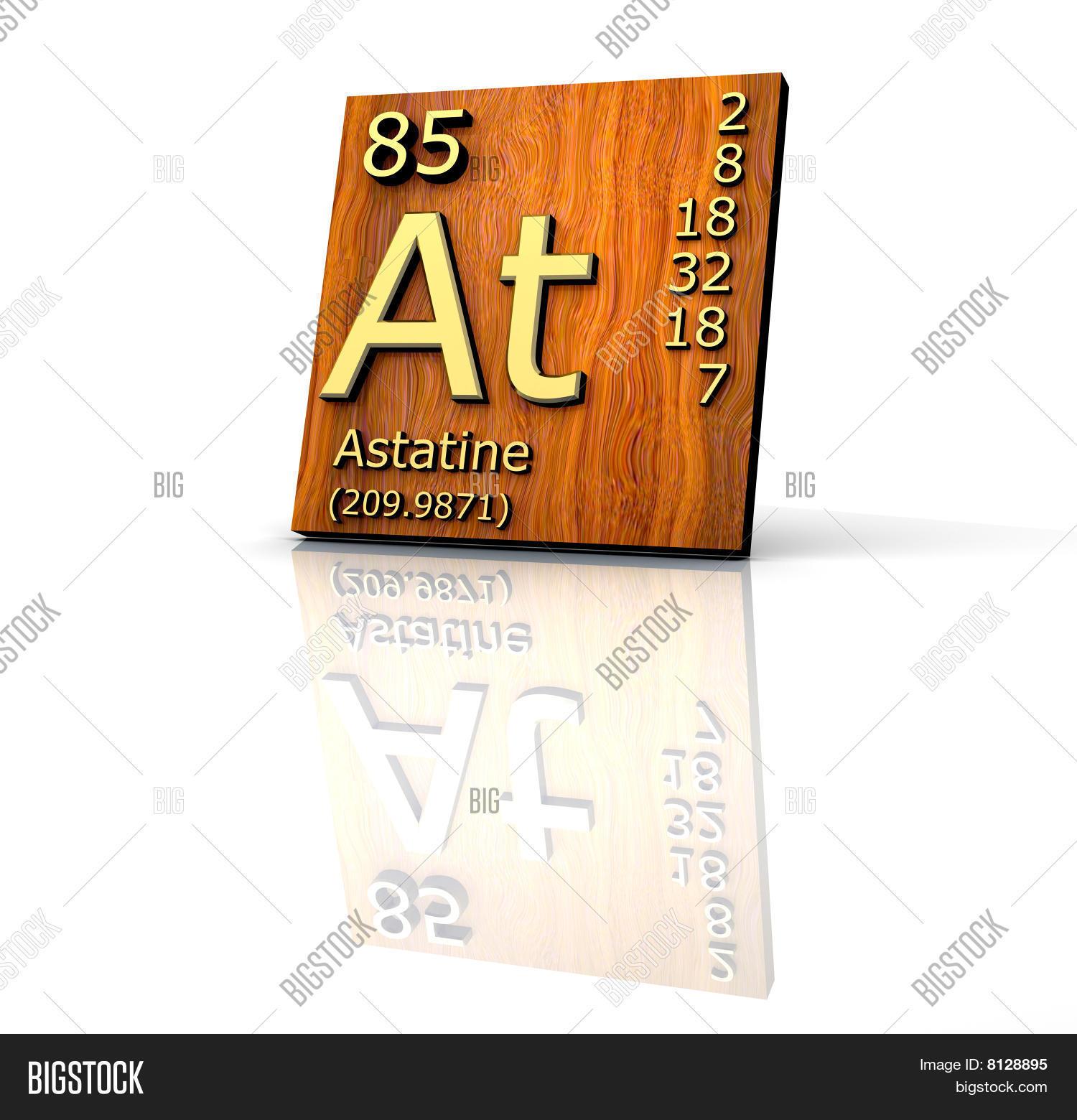 Astatine Form Periodic Image Photo Free Trial Bigstock