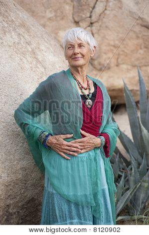 Graceful Senior Woman