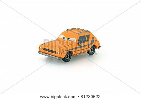 Grem Rusty Orange Amc Gremlin A Main Protagonist Of The Disney Pixar Feature Film Cars.