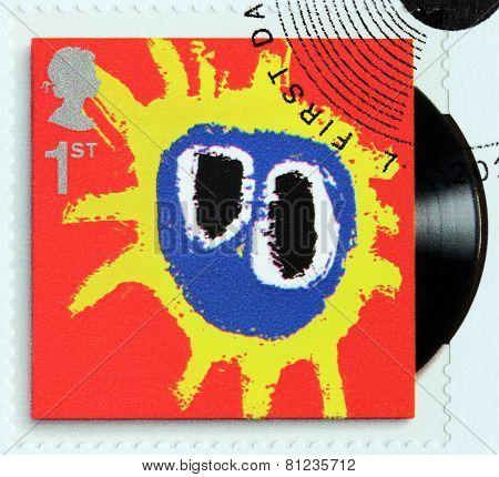 Primal Scream Stamp