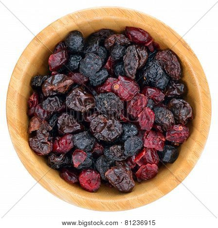 Dried Mix Berries Fruits.