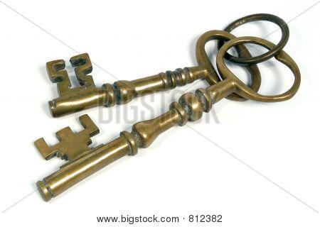 Two Brass Keys