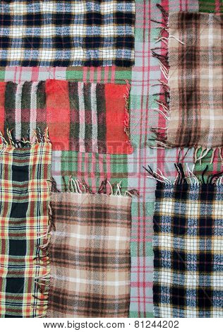 Background Of Patchwork Quilts
