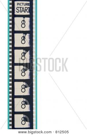 Movie Leader Film Strip