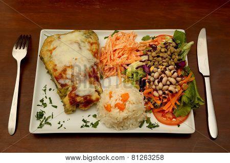 Kitchen rice menu