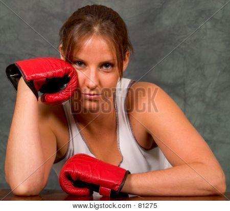 Boxing Girl...