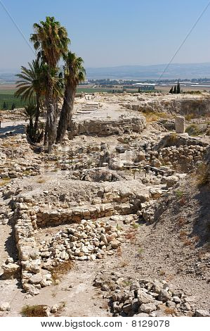 Biblical Place Of Israel: Megiddo