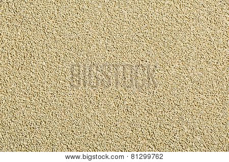 the texture of dry yeast