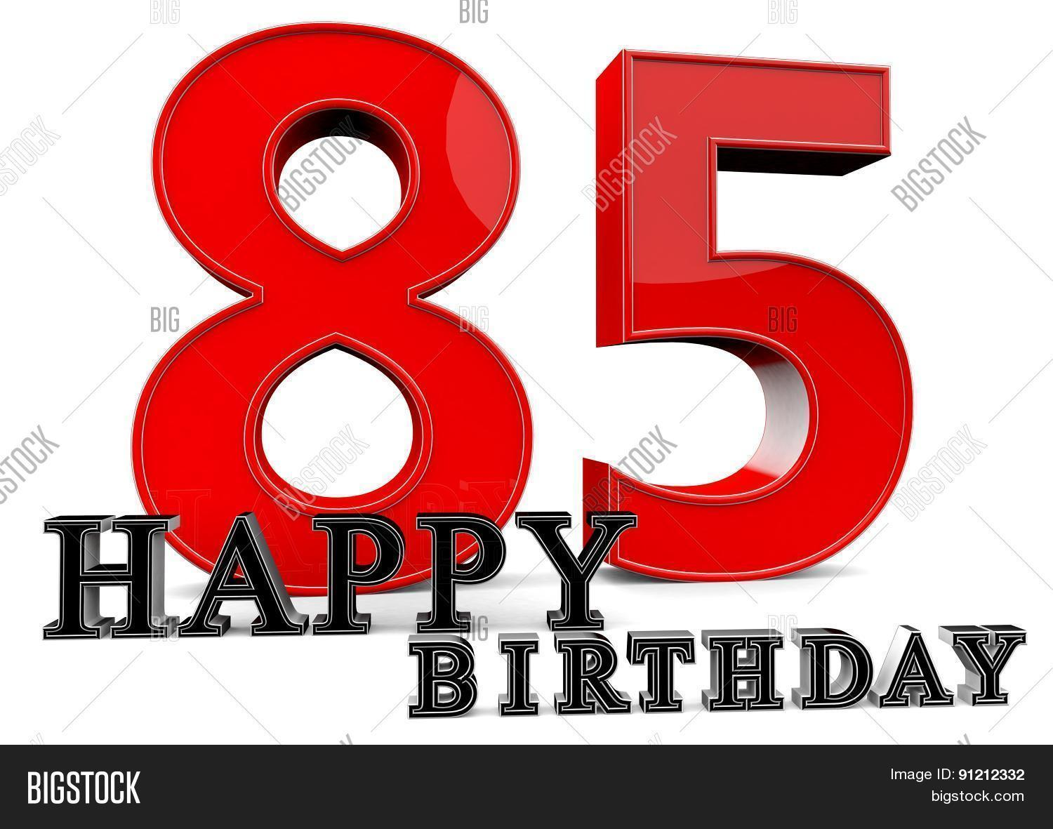 Happy 85Th Birthday Image Photo Free Trial