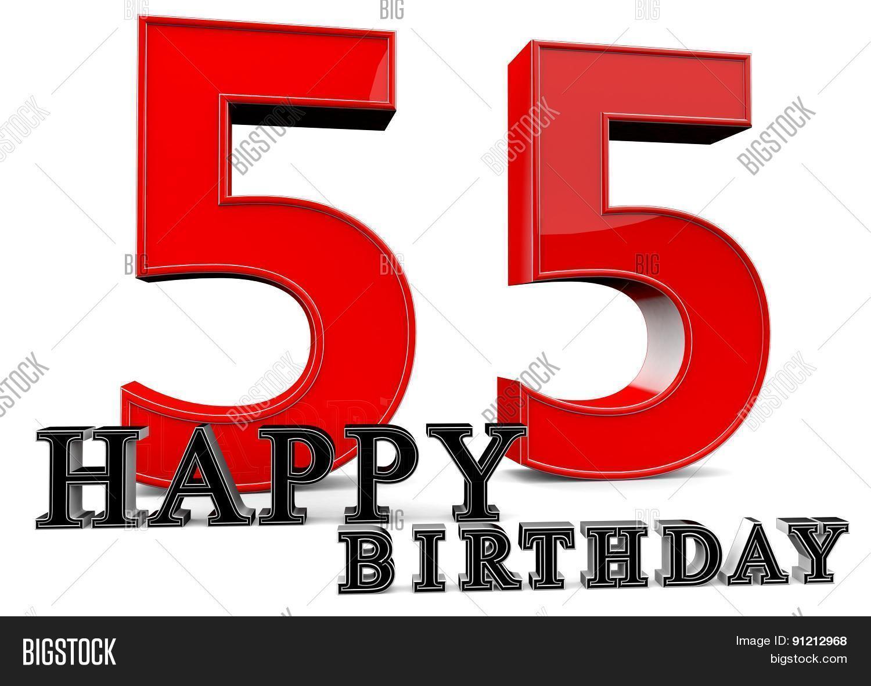 Happy 55Th Birthday Image Photo Free Trial