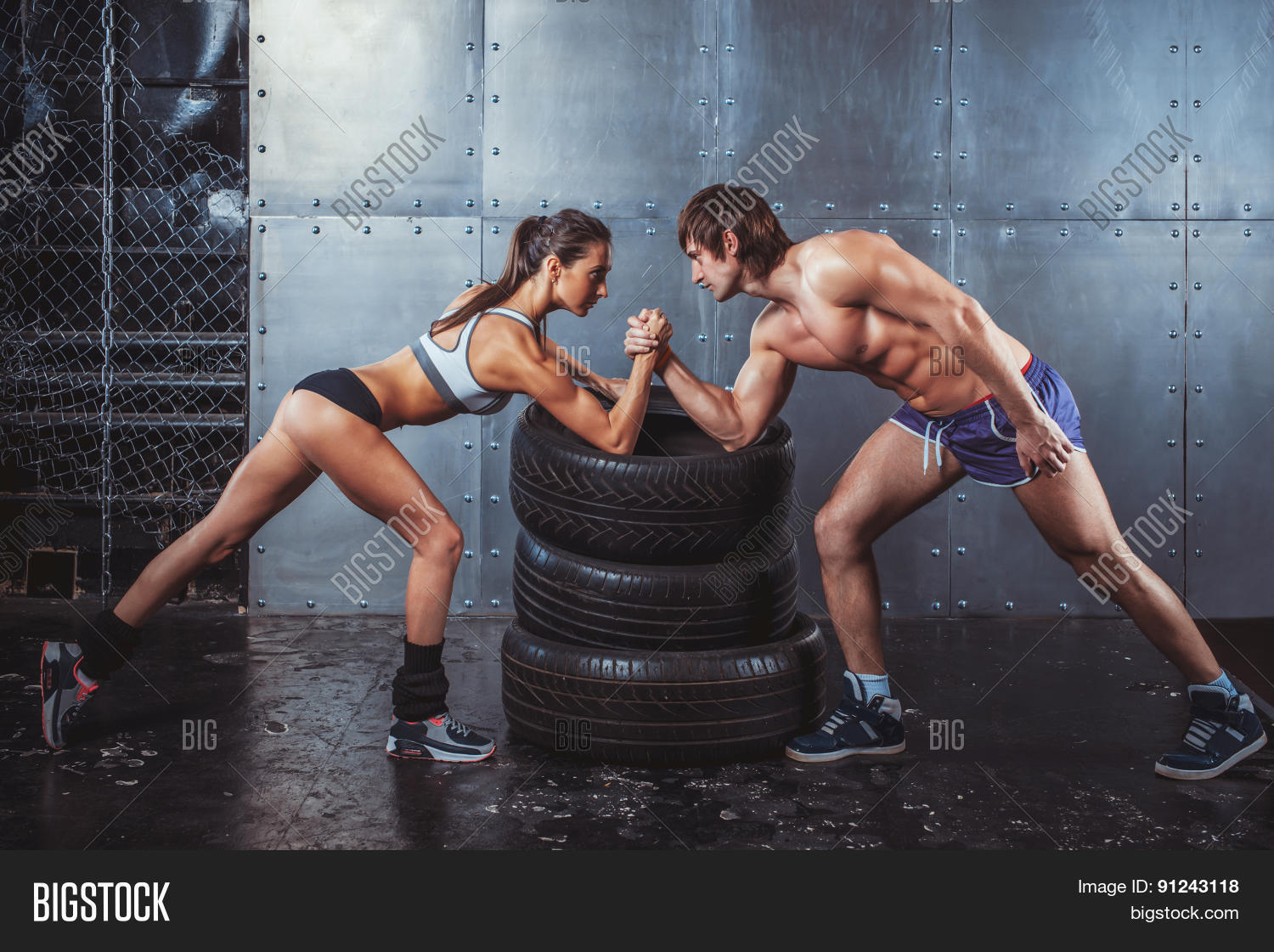 Athlete Muscular Image & Photo (Free Trial) | Bigstock