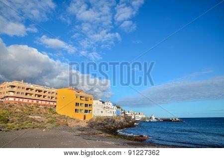 Tropical Beach near the City