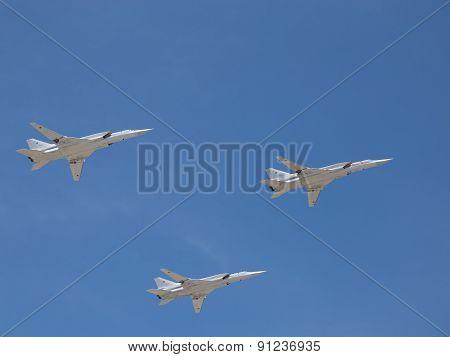 Aircraft Strategic Bombers Tu 22M3