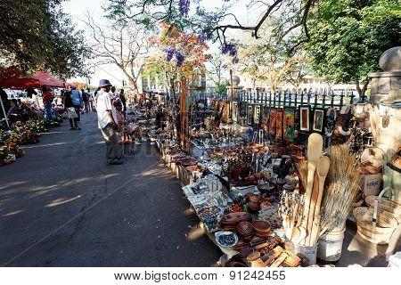 Street In Bulawayo Zimbabwe
