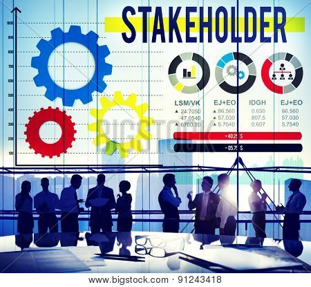 Stakeholder Contributor Partner Corporate Deal Concept