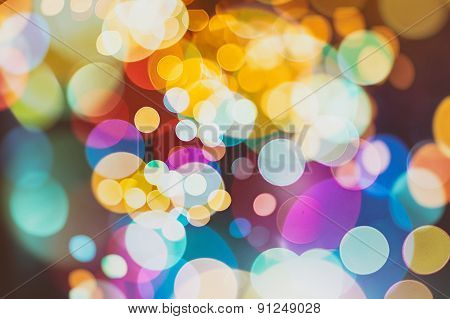 abstract texture, light bokeh background