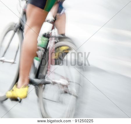Legs Of A Very Fast Bicycle