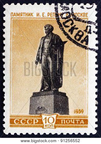 Postage Stamp Russia 1959 Ilya Yefimovich Repin, Painter
