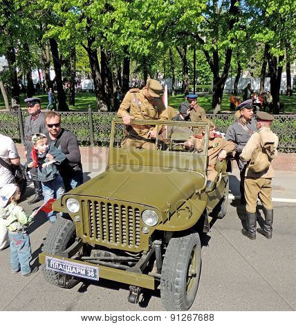 Willys Mb - Car Of U.s.army And Red Army Of Ww2