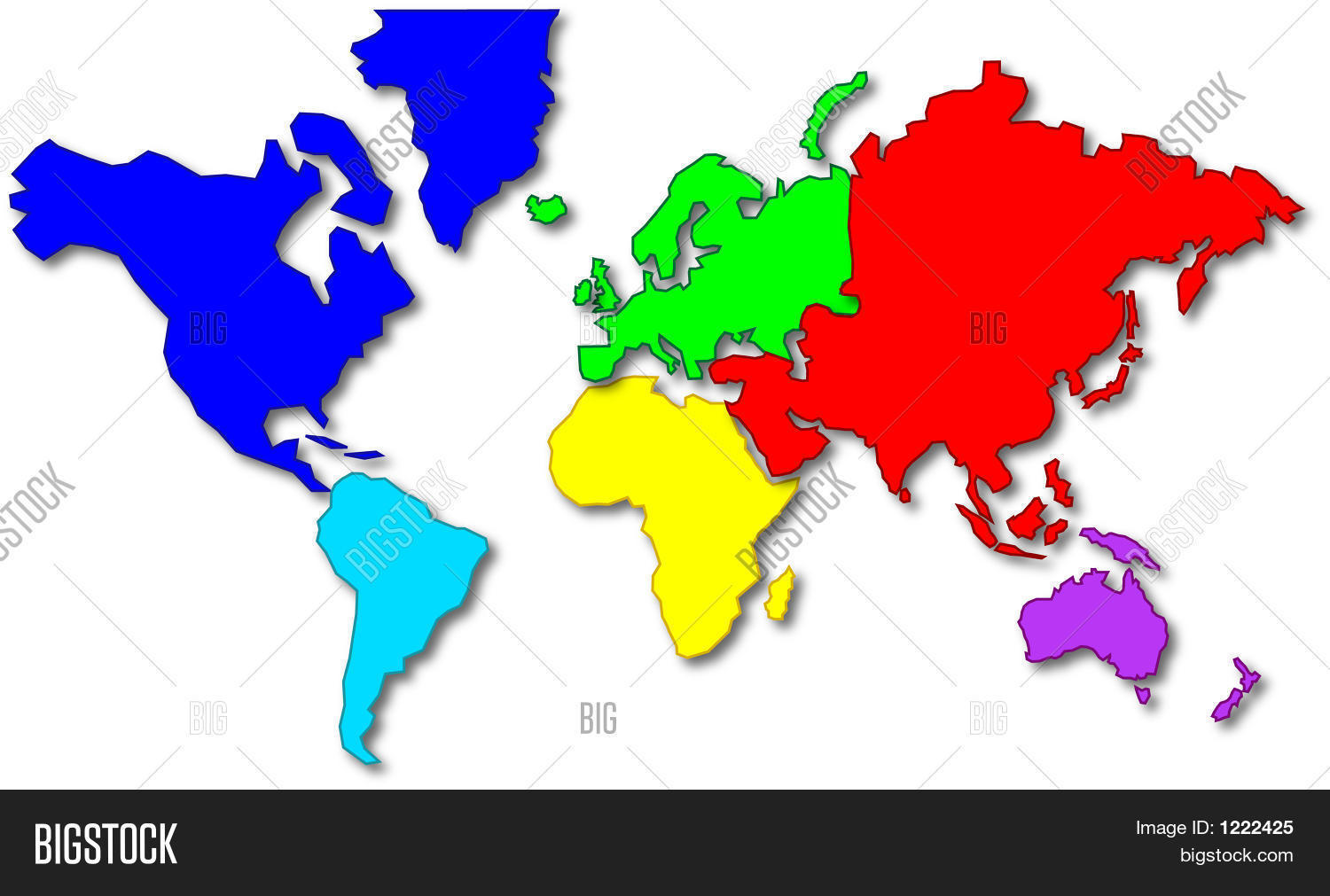 cartoon world map image photo free trial bigstock rh bigstockphoto com cartoon world map clipart cartoon world map clipart