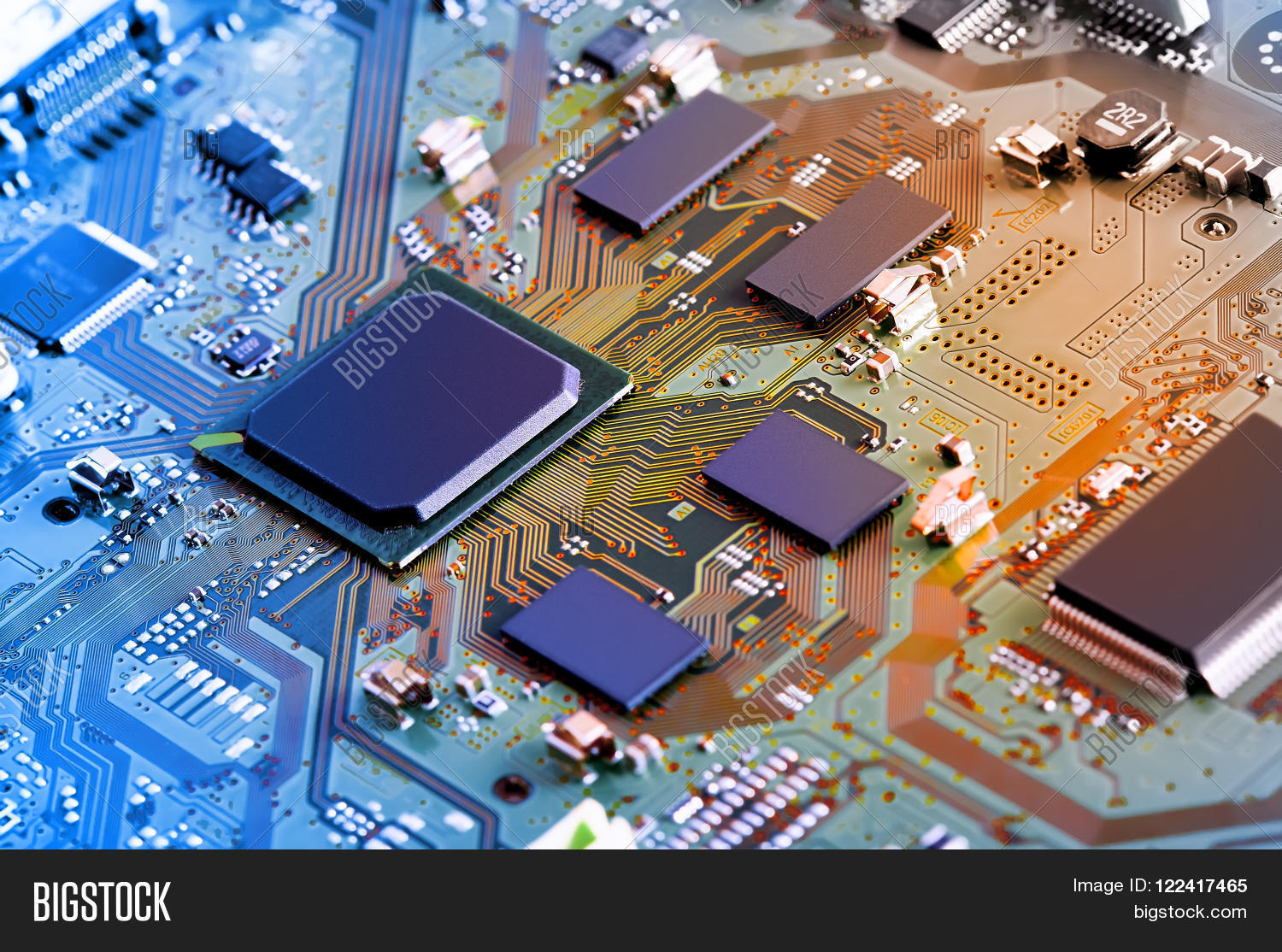 Electronic Circuit Image Photo Free Trial Bigstock Board Design Close Up Background Can Use The Internet Print Advertising And