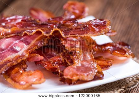 Bacon Stripes (fried)