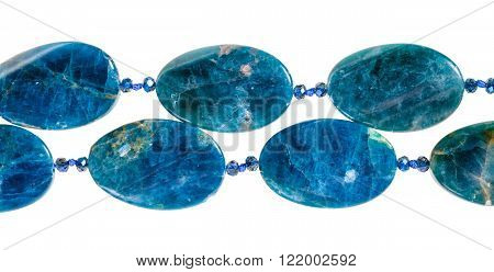 String Of Beads Bead From Kyanite Gem Stone