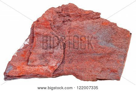 Piece Of Taconite Stone Isolated