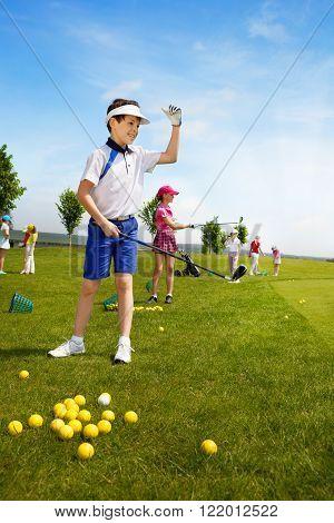 Kids golf school