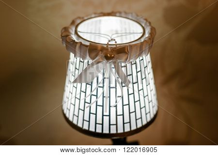 accessory for fiancee wedding garter white lamp