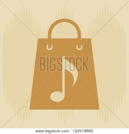 musical sound icon design
