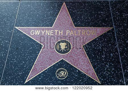 Gwyneth Paltrow Hollywood Star