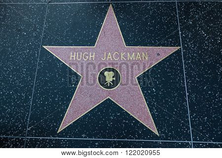 Hugh Jackman Hollywood Star