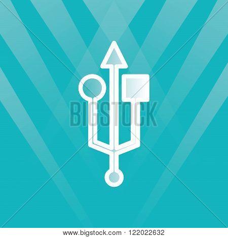 usb symbol design