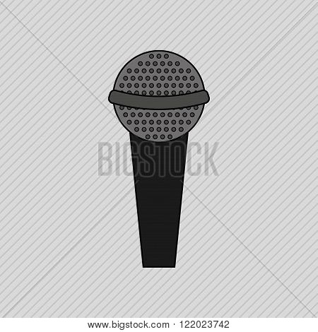 microphone icon  design
