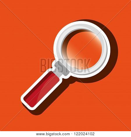 magnifying glass design
