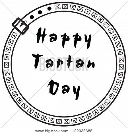 Symbolic character Happy Tartan Day It is noted in the US and Canada on April 6.