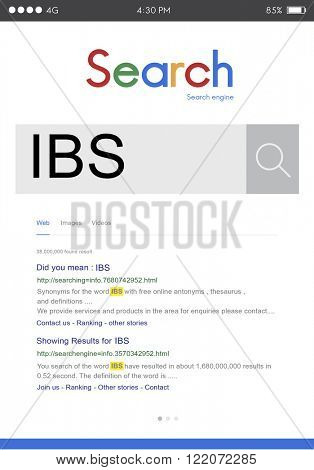 IBS Illnes Medical Sick Symptoms Concept