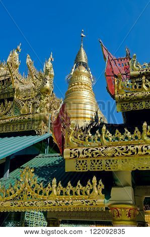 OoHminThoneSel ( U-Min Thone-Se) Pagoda. Sagaing. Myanmar