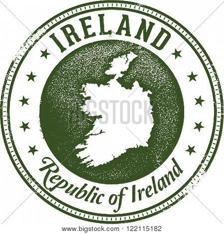 Ireland European Country Stamp