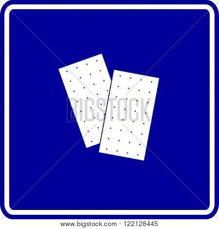 saltine crackers sign