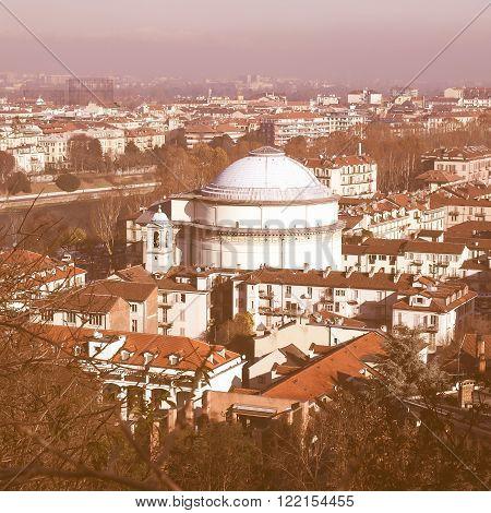 Gran Madre Church, Turin Vintage