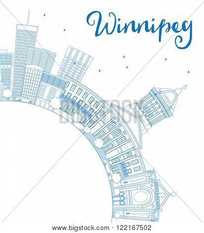 Outline Winnipeg Vector & Photo (Free Trial) | Bigstock