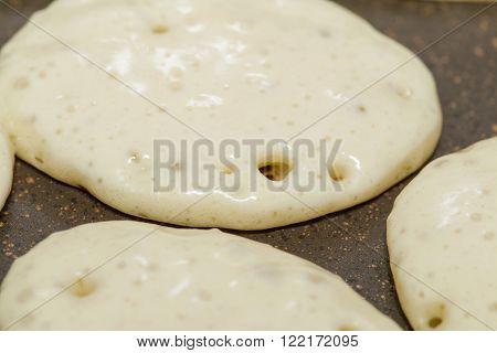 Making Thick Pancakes