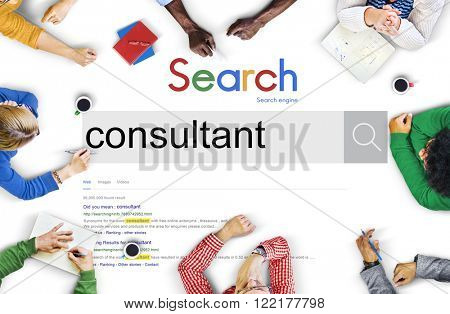 Consultant Plan Potential Consulting Concept