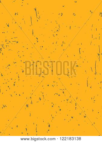 The rectangular background is a golden color in the black dot