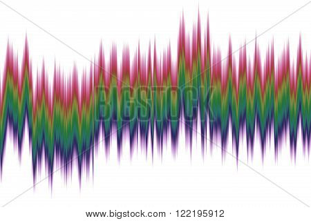 abstract spectrum wave, colorfull colour moving graphic