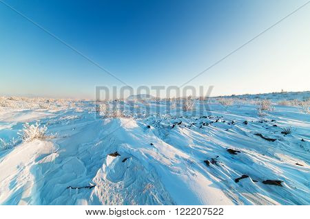 Snow Covered Plateau
