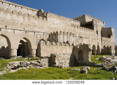 Fort Jalan Bani Bu Ali Hammouda Al-QalaSultanate of Oman Middle East