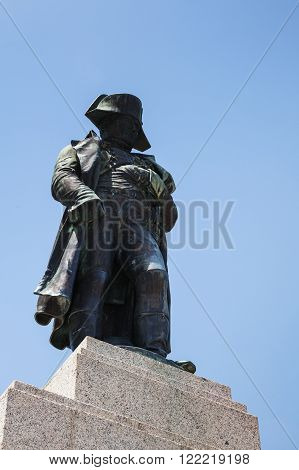 Napoleon Statue In His Hometown Ajaccio